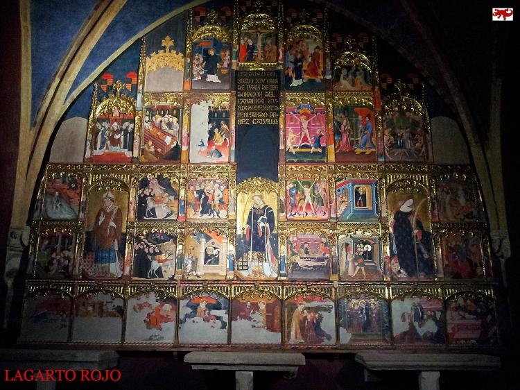 Retablo gótico capilla de los Calvillo