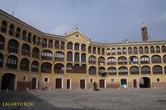 Interior de la plaza de toros Vieja de Tarazona