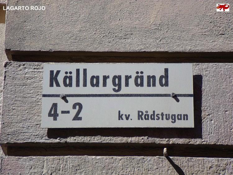 Placa de calle