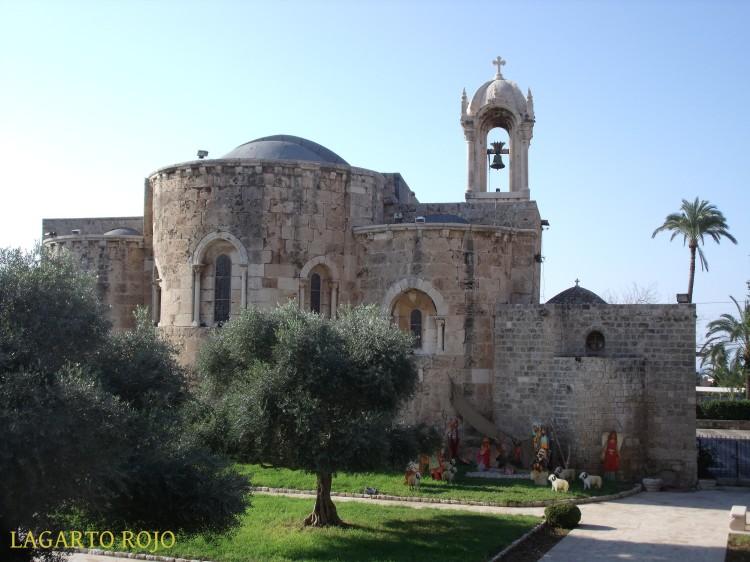 Biblos. Iglesia románica de San Juan Bautista