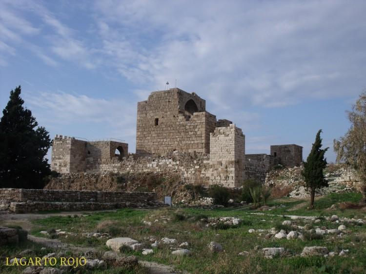 Biblos. Castillo de los Cruzados
