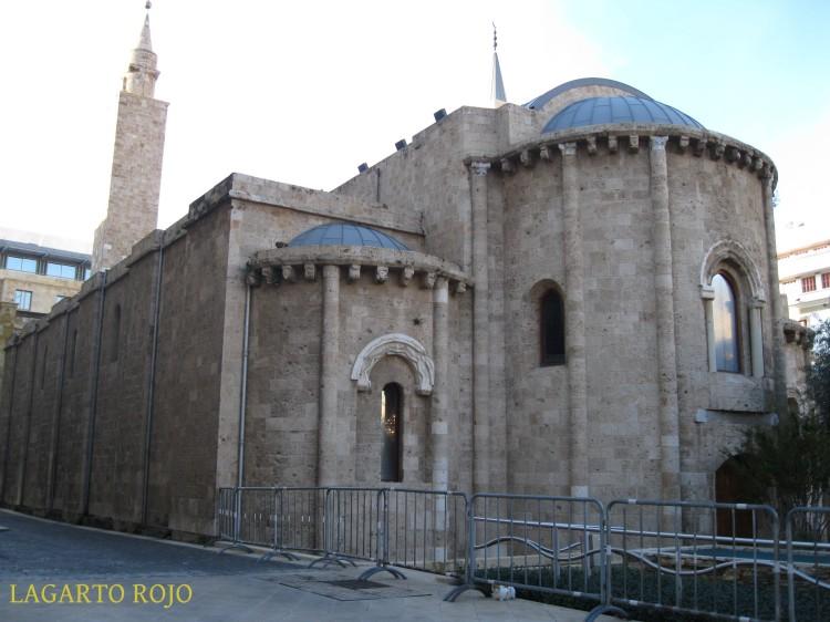 Ábsides de la mezquita de Al-Omari, una antigua iglesia románica transformada