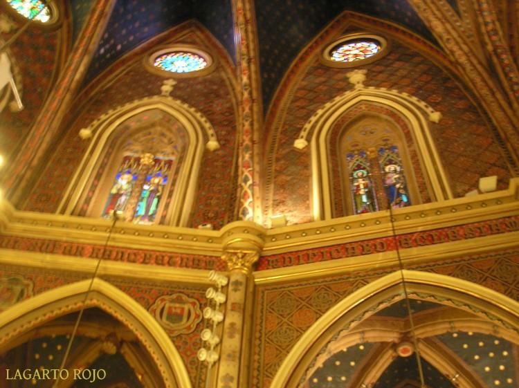 Iglesia de San Pedro. Decoración de las bóvedas