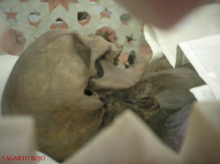 Momia de Isabel de Segura