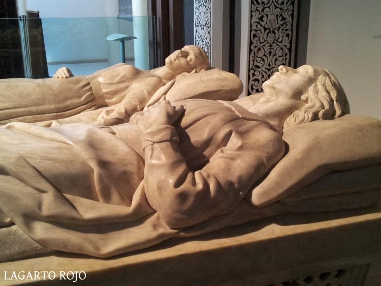 Mausoleo de los Amantes de Teruel (detalle)