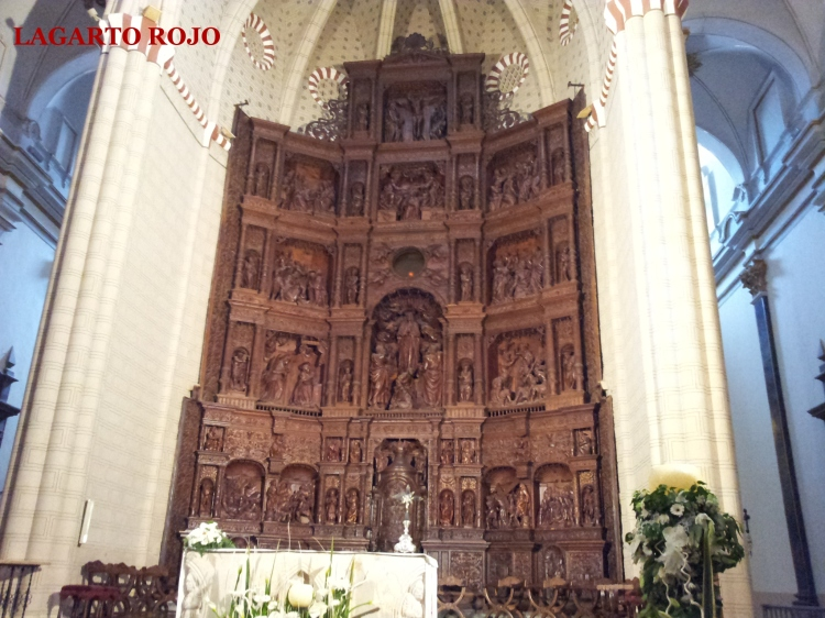 Retablo mayor de la catedral, obra de Gabriel Joli