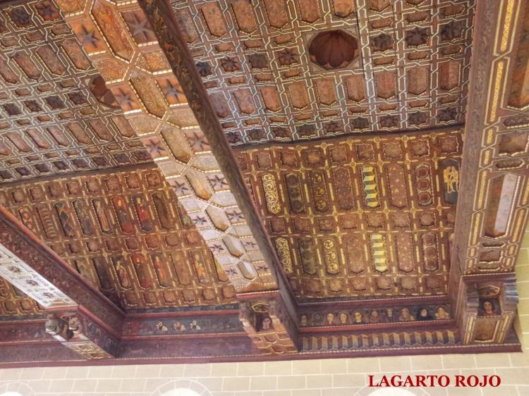 Techumbre de la catedral (detalle)