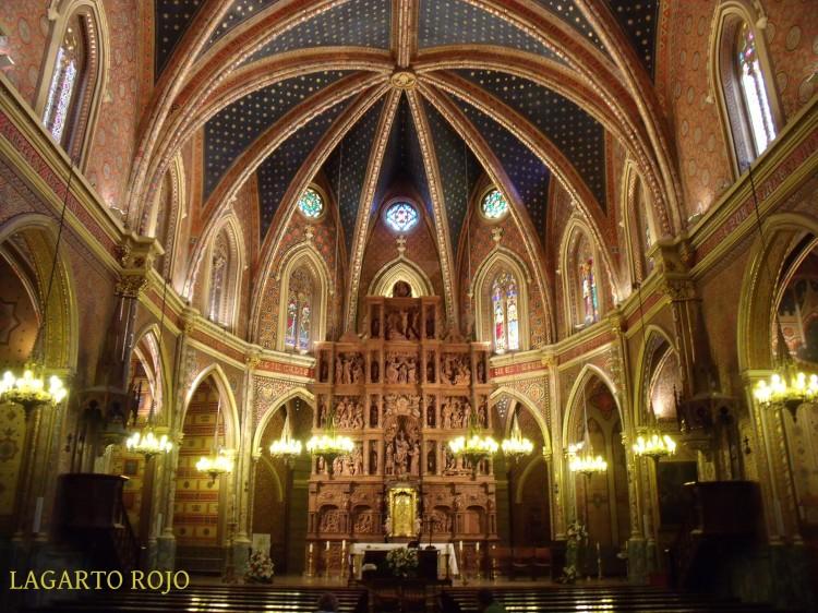 Vista general de la iglesia de San Pedro