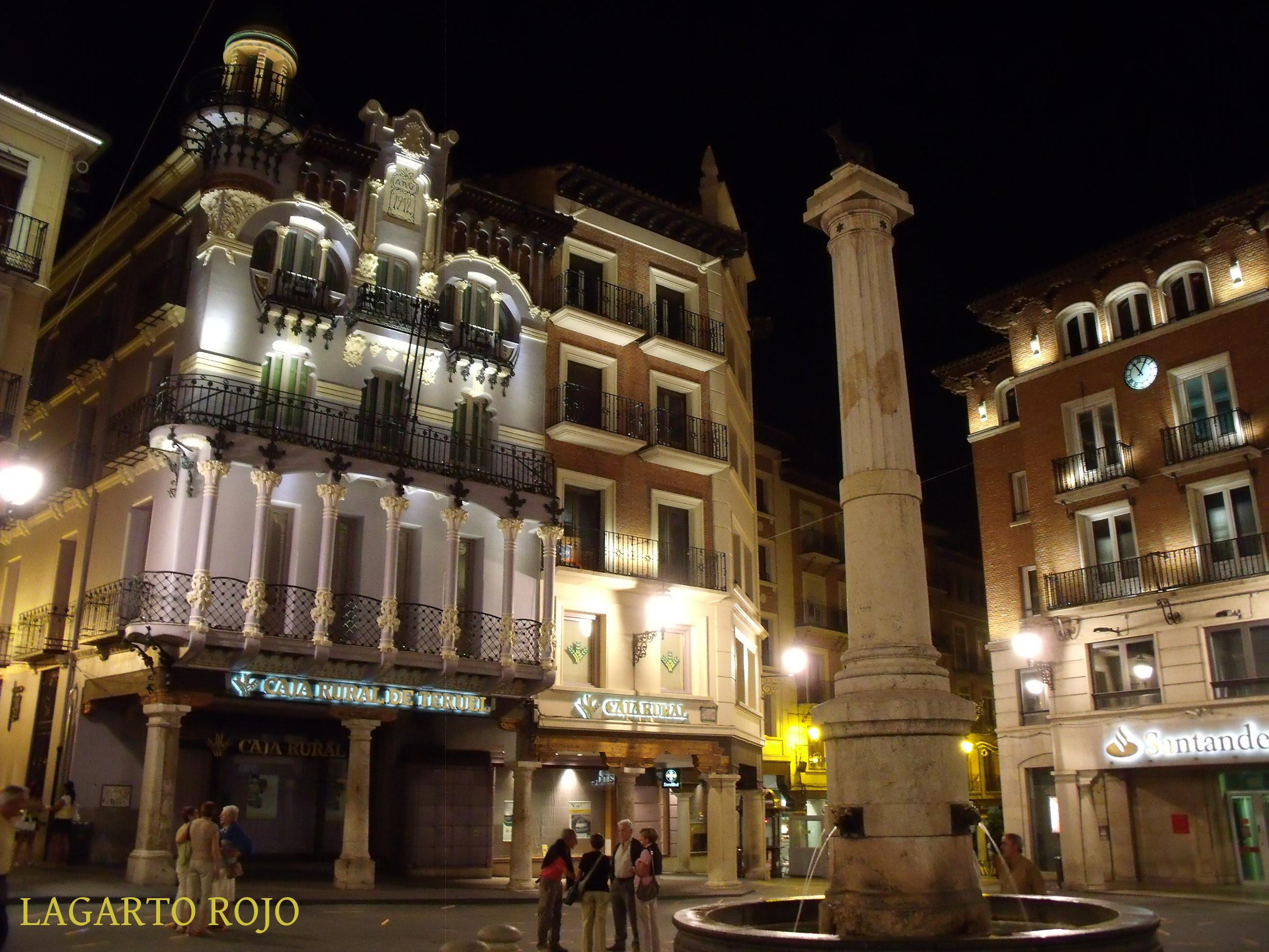 Teruel la ciudad mud jar i el torico san pedro y los amantes lagarto rojo - La casa del cura teruel ...