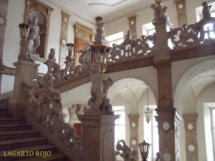 La escalera barroca del Palacio Mirabell