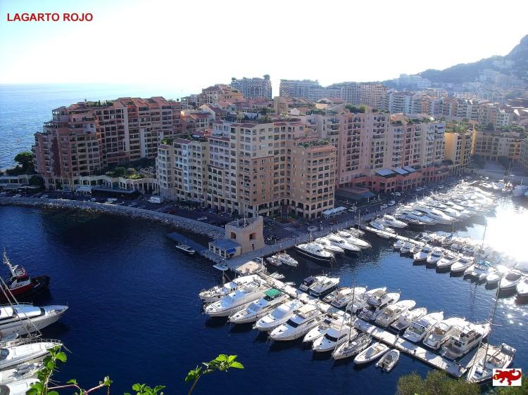 El barrio de Fontvieille de Mónaco
