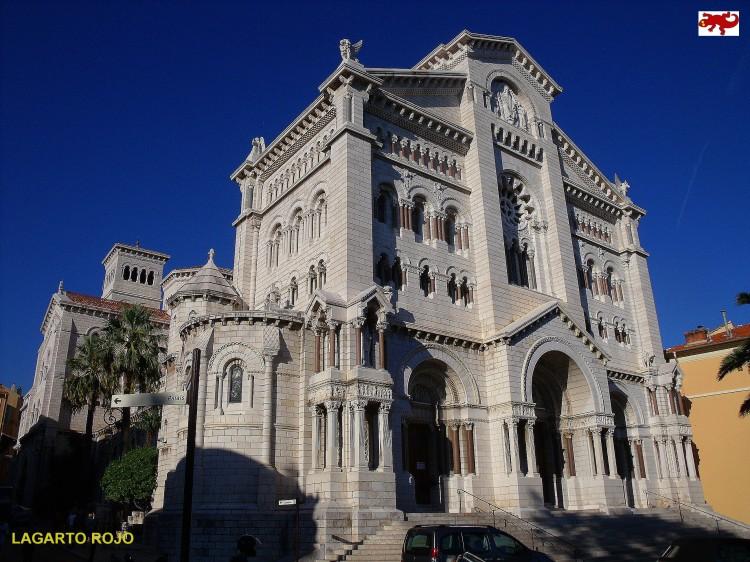 Catedral neorrománica de Mónaco