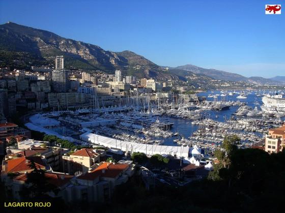 Vista panorámica de Mónaco