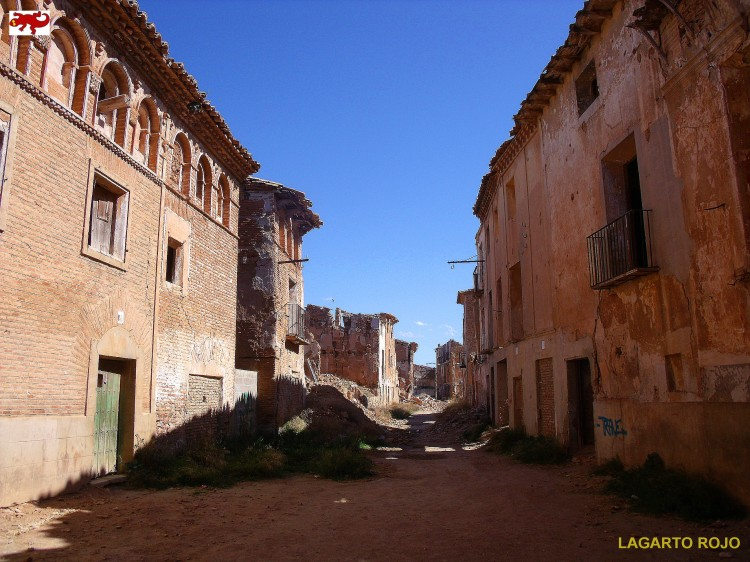 Calle Mayor de Belchite