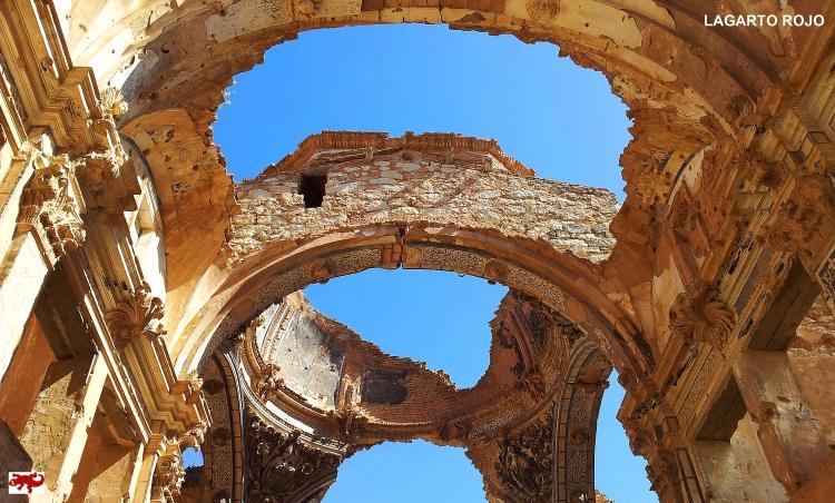 Ruinas de la iglesia de San Agustín de Belchite