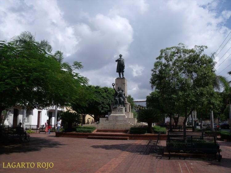 La plaza de Duarte