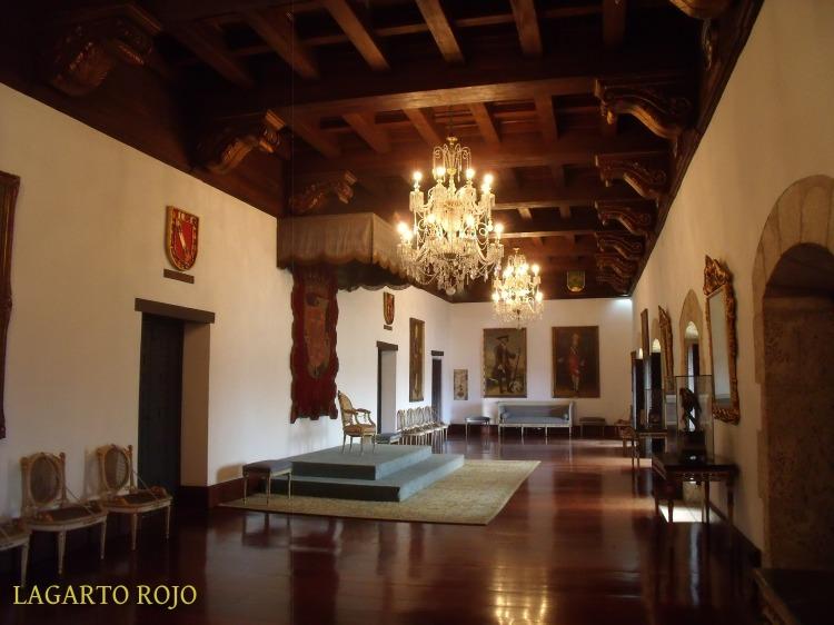 Salón de recepciones de las Casas Reales