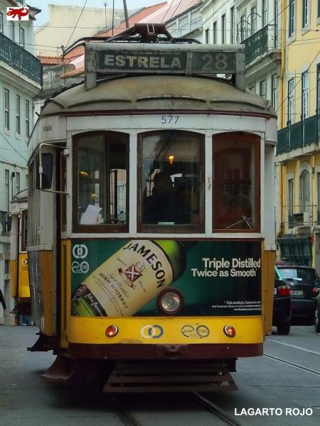 El tranvía 28 de Lisboa