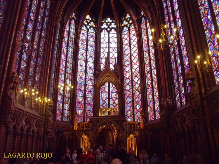 Santa Capilla de París. Capilla superior