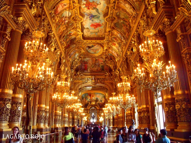 El suntuosísimo interior del Palacio Garnier