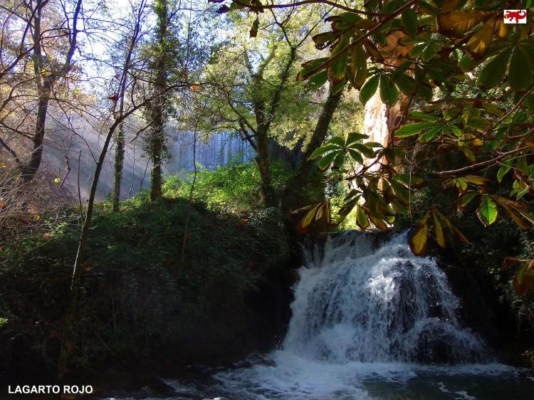 Cascada en otoño