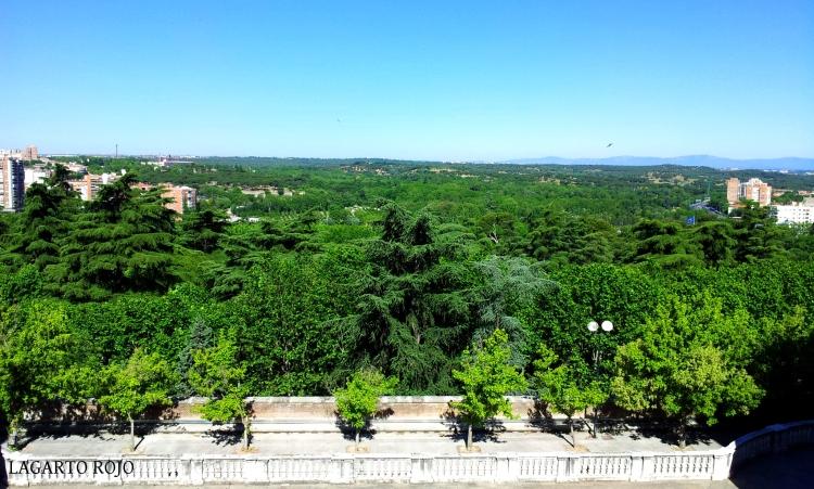 Mirador de la Plaza de la Armería de Madrid