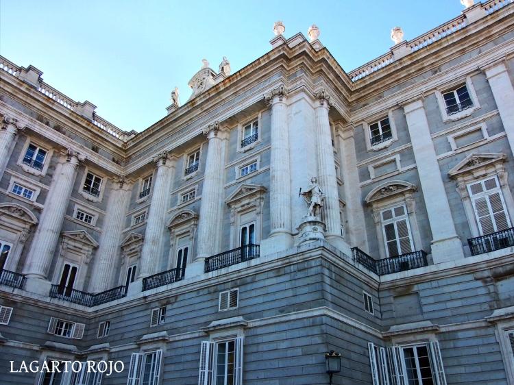 Fachada oriental del Palacio Real de Madrid
