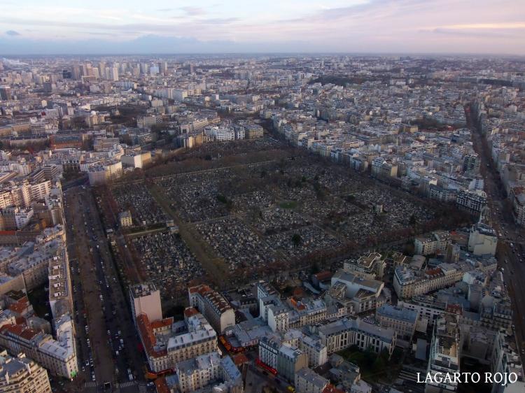 Barrio de Montparnasse de París