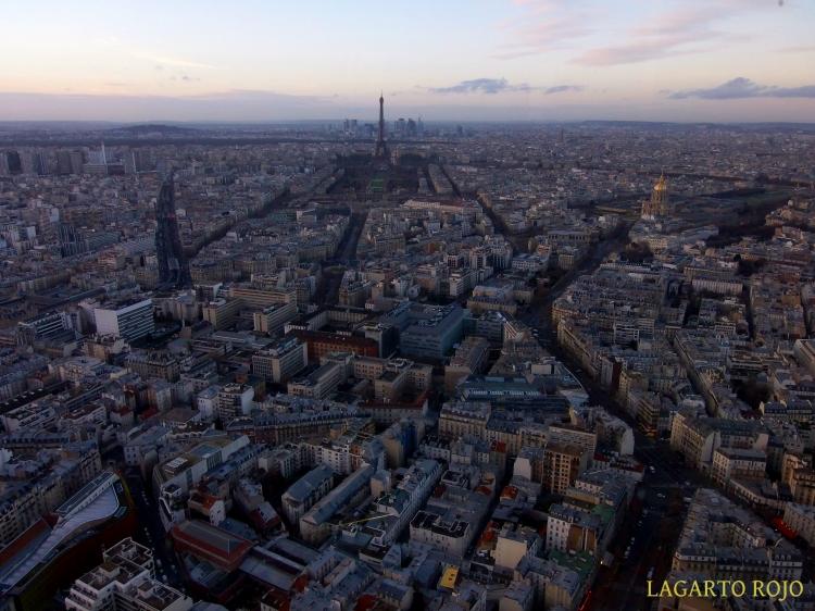 La Torre Eiffel y los Inválidos