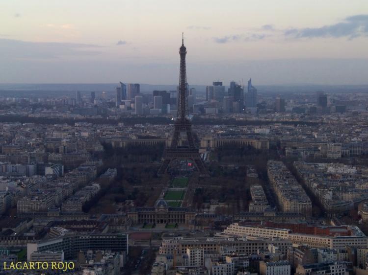 La Torre Eiffel y el Campo de Marte