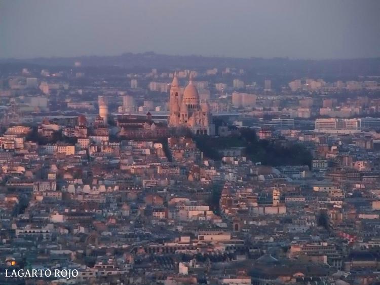 Sagrado Corazón y colina de Montmartre