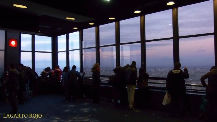 Vistas panorámicas desde la Torre Montparnasse
