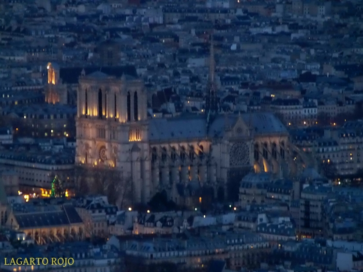 Vistas desde la Torre Montparnasse