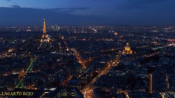 La Torre Eiffel y los Inválidos de París