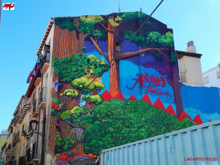 Mural en El Gancho
