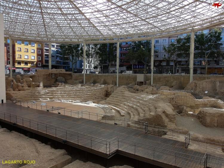 Teatro romano de Zaragoza