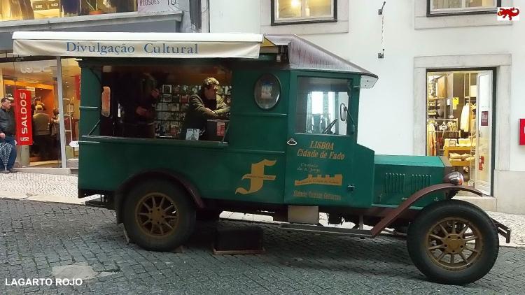 Biblioteca rodante en Lisboa