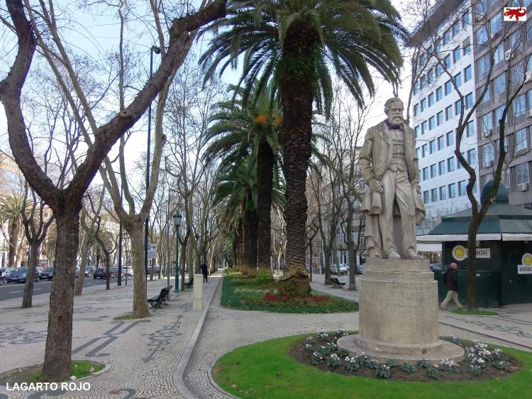 Alameda en Lisboa