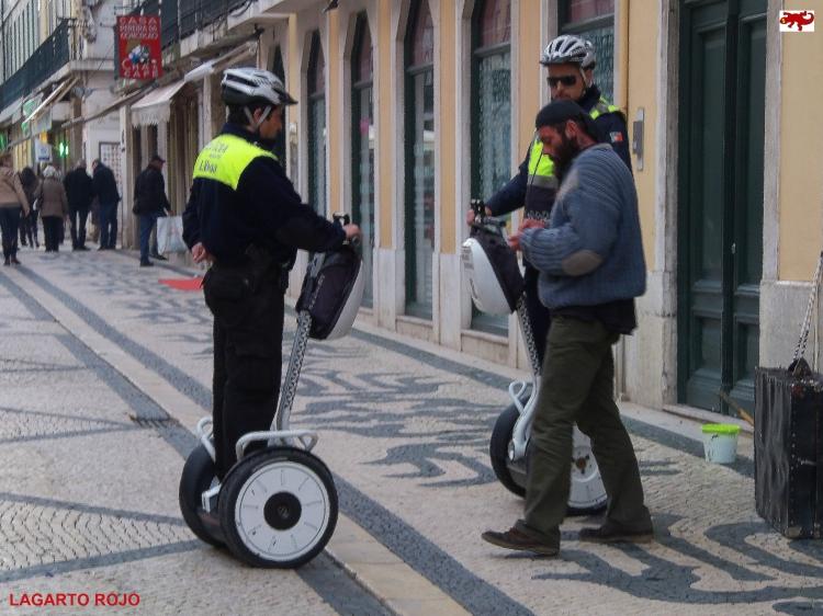 Policía portuguesa