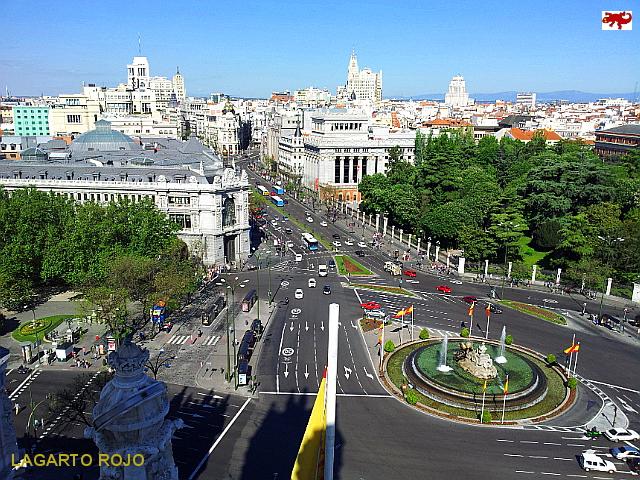 Panorámica del centro de Madrid
