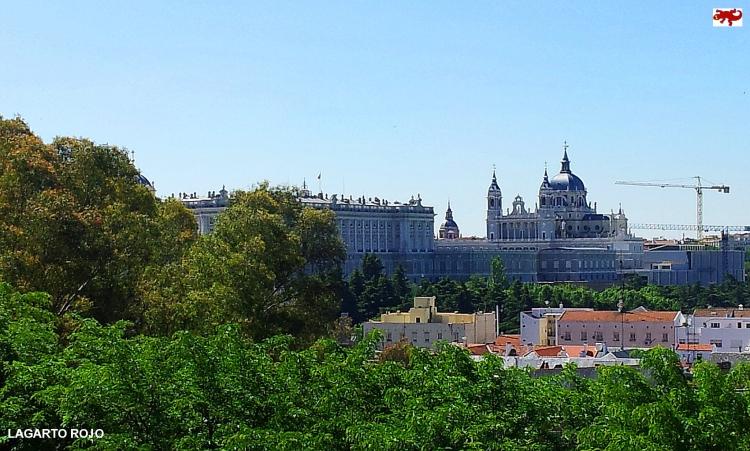 Palacio Real y catedral de la Almudena
