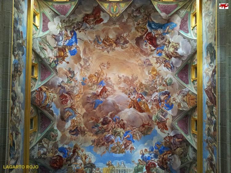 Escalera principal del Escorial