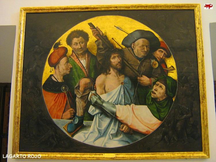 La coronación de espinas de El Bosco