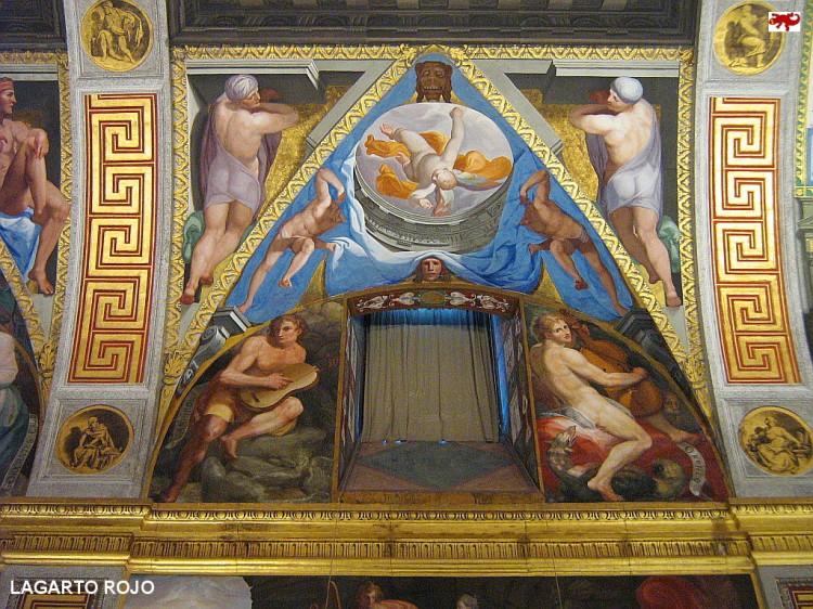 Frescos de la biblioteca del Escorial