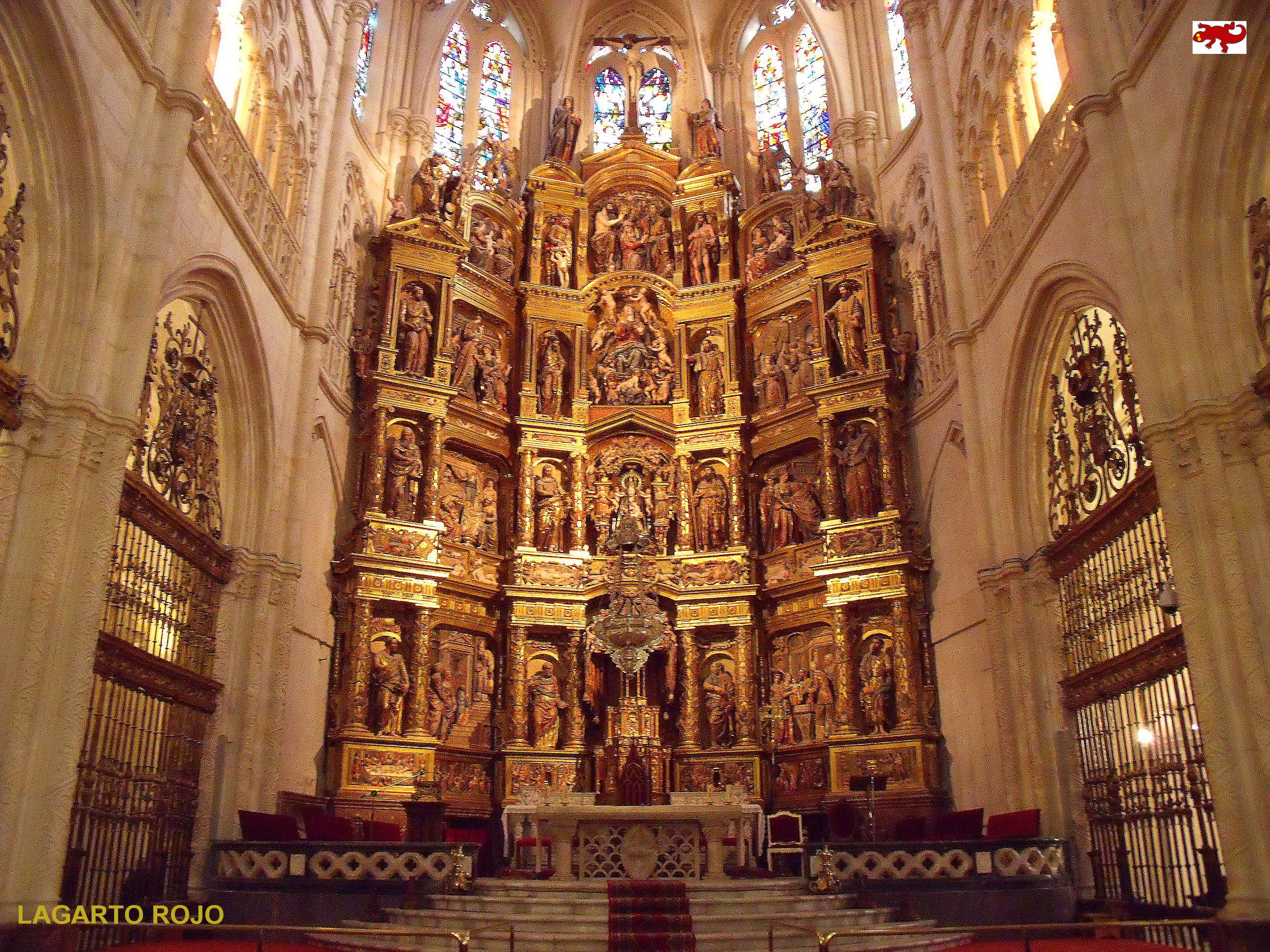 La catedral de burgos el drag n g tico lagarto rojo - Foto foto interior ...