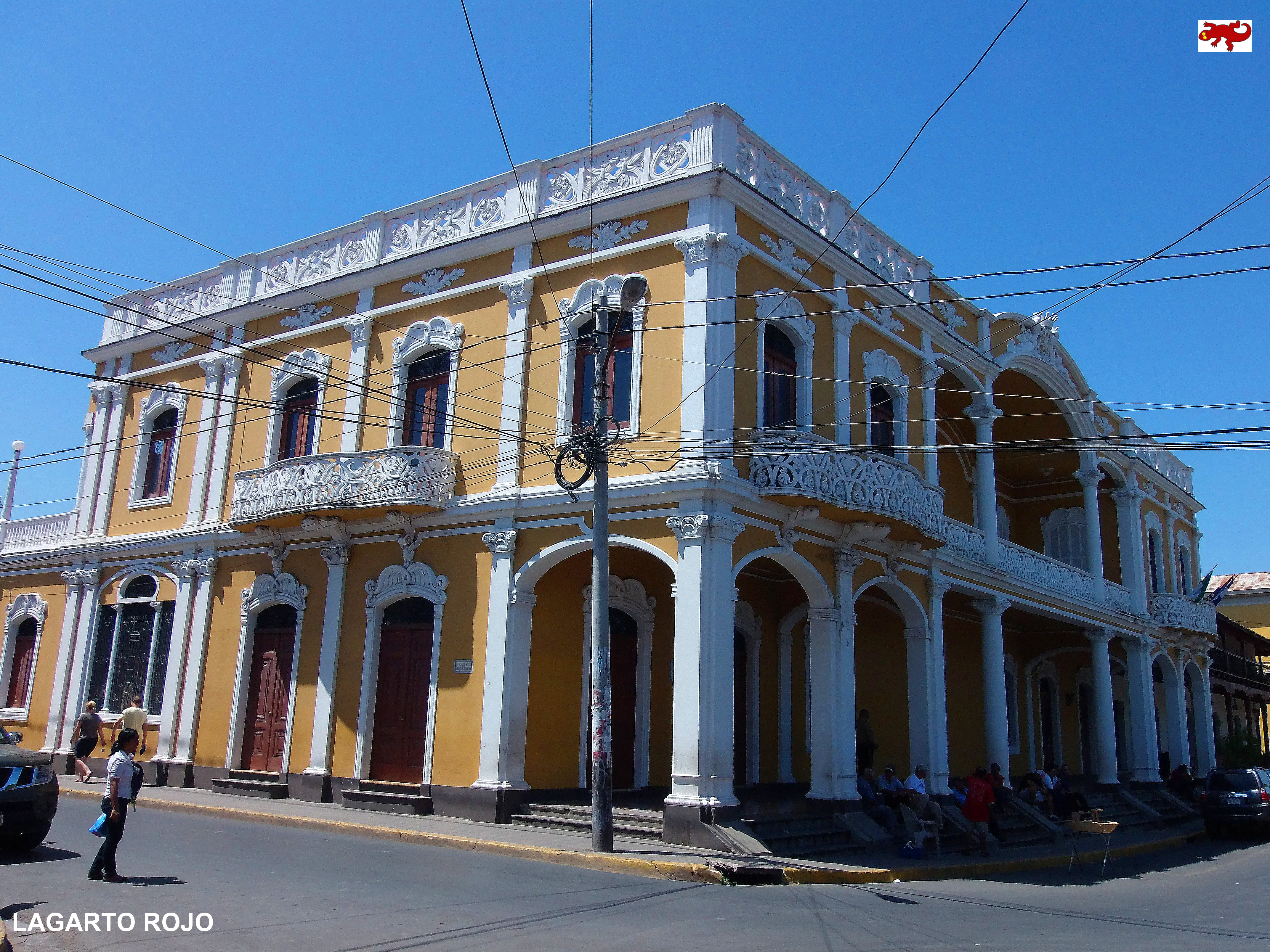 Granada la gran sultana de nicaragua lagarto rojo for La casa de granada en madrid
