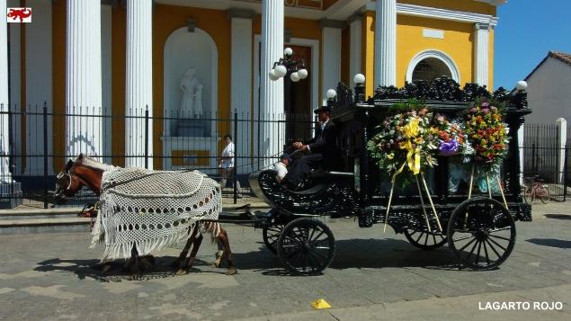 Coche de caballos funerario