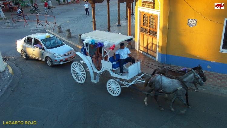Coche de caballos nicaragüense
