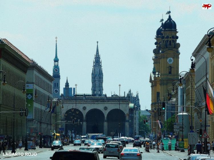 Plaza Odeón de Múnich