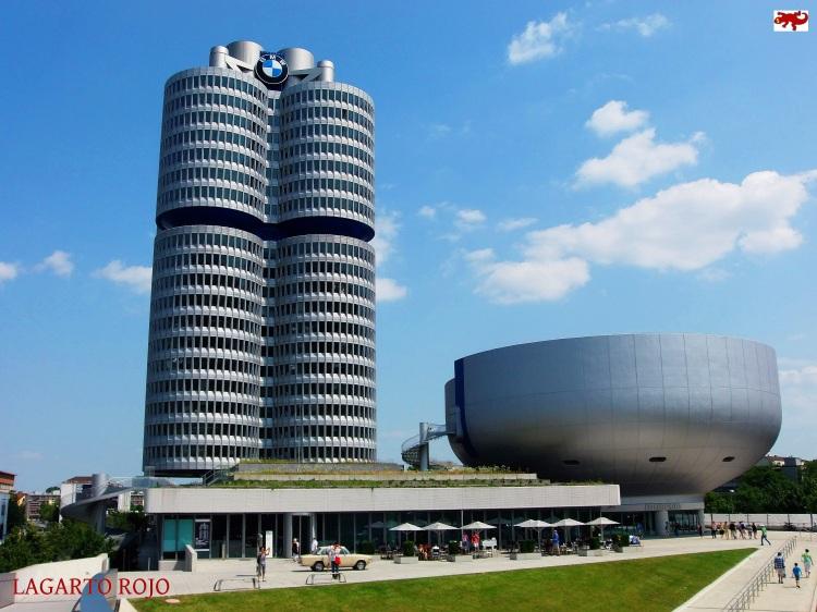Edificio Cuatro Cilindros de Múnich